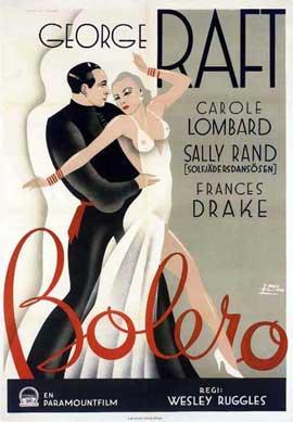 Bolero - 11 x 17 Movie Poster - Swedish Style A