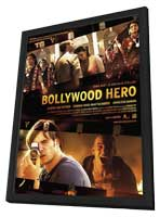 Bollywood Hero - 11 x 17 Movie Poster - Style A - in Deluxe Wood Frame