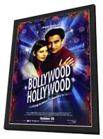 Bollywood Hollywood - 27 x 40 Movie Poster - Style A - in Deluxe Wood Frame