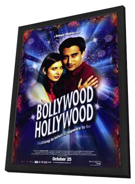 Bollywood Hollywood - 11 x 17 Movie Poster - Style A - in Deluxe Wood Frame