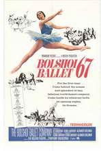 Bolshoi Ballet - 27 x 40 Movie Poster - Style A