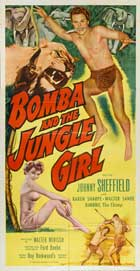 Bomba and the Jungle Girl - 27 x 40 Movie Poster - Style B