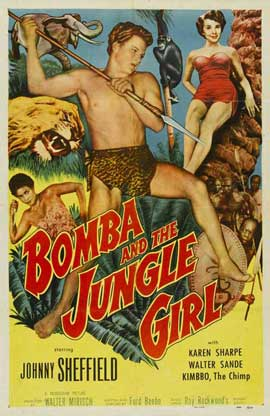 Bomba and the Jungle Girl - 11 x 17 Movie Poster - Style A