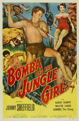 Bomba and the Jungle Girl - 27 x 40 Movie Poster - Style A
