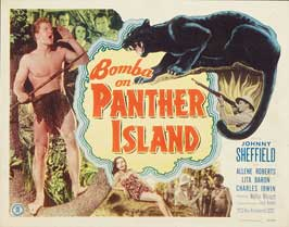 Bomba on Panther Island - 30 x 40 Movie Poster UK - Style A