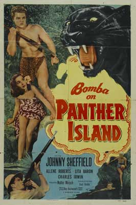 Bomba on Panther Island - 11 x 17 Movie Poster - Style A