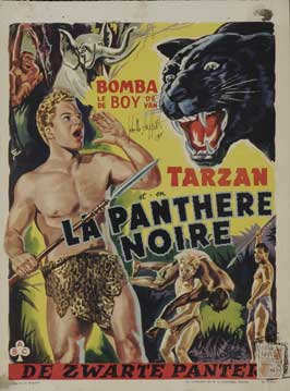 Bomba on Panther Island - 27 x 40 Movie Poster - Belgian Style A