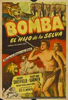 Bomba, the Jungle Boy - 27 x 40 Movie Poster - Spanish Style A