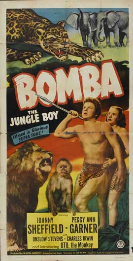 Bomba, the Jungle Boy - 11 x 17 Movie Poster - Style A