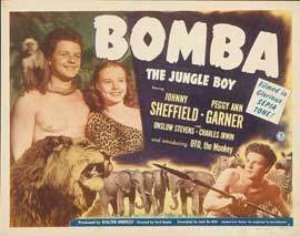 Bomba, the Jungle Boy - 22 x 28 Movie Poster - Half Sheet Style A