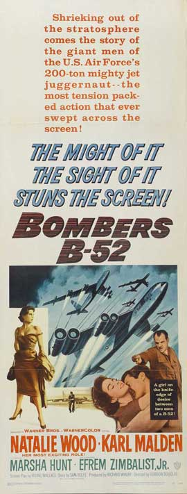Bombers B-52 - 14 x 36 Movie Poster - Insert Style A