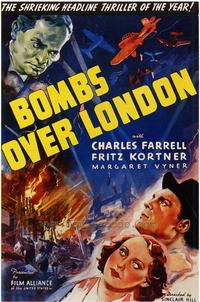 Bombs over London - 43 x 62 Movie Poster - Bus Shelter Style A
