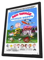 Bon Voyage Charlie Brown - 11 x 17 Movie Poster - Style A - in Deluxe Wood Frame