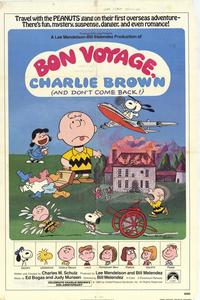 Bon Voyage Charlie Brown - 43 x 62 Movie Poster - Bus Shelter Style A