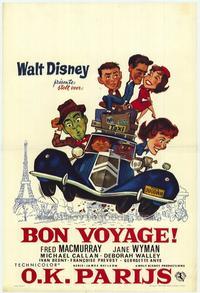 Bon Voyage! - 11 x 17 Movie Poster - Belgian Style A