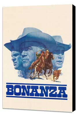 Bonanza - 27 x 40 TV Poster - Style A - Museum Wrapped Canvas