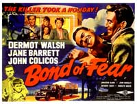 Bond of Fear - 11 x 17 Movie Poster - UK Style A