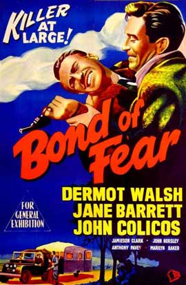 Bond of Fear - 11 x 17 Movie Poster - UK Style B