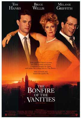 The Bonfire of the Vanities - 27 x 40 Movie Poster - Style A