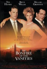 The Bonfire of the Vanities - 11 x 17 Movie Poster - Style B