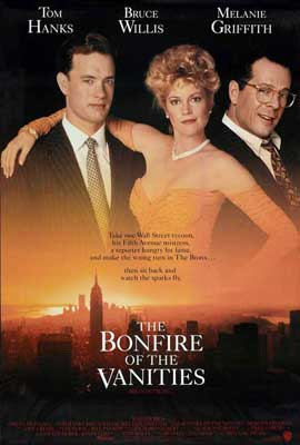 The Bonfire of the Vanities - 27 x 40 Movie Poster - Style B