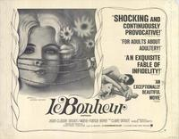 Bonheur, Le - 22 x 28 Movie Poster - Half Sheet Style A