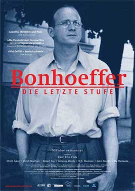 Bonhoeffer: Agent of Grace - 27 x 40 Movie Poster - German Style A