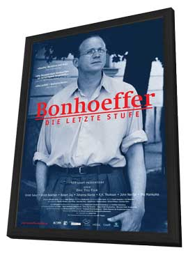 Bonhoeffer: Agent of Grace - 27 x 40 Movie Poster - German Style A - in Deluxe Wood Frame