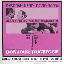 Bonjour Tristesse - 11 x 14 Movie Poster - Style A