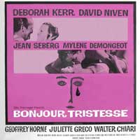 Bonjour Tristesse - 30 x 30 Movie Poster - Style A