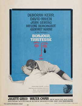 Bonjour Tristesse - 27 x 40 Movie Poster - Style B