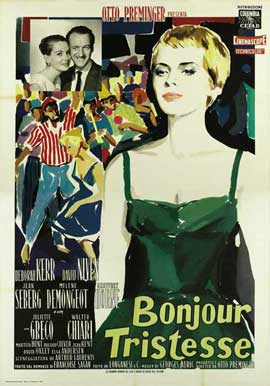 Bonjour Tristesse - 11 x 17 Movie Poster - Italian Style A