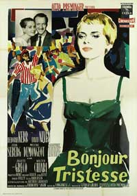 Bonjour Tristesse - 27 x 40 Movie Poster - Italian Style A