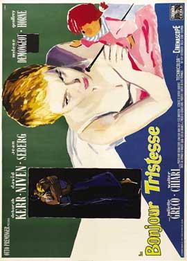 Bonjour Tristesse - 27 x 40 Movie Poster - Italian Style B