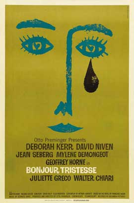 Bonjour Tristesse - 11 x 17 Movie Poster - Style C