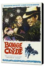 Bonnie & Clyde - 27 x 40 Movie Poster - Spanish Style A - Museum Wrapped Canvas