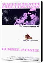 Bonnie & Clyde - 11 x 17 Museum Wrapped Canvas