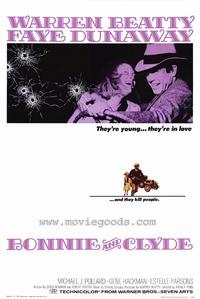 Bonnie & Clyde - 43 x 62 Movie Poster - Bus Shelter Style A
