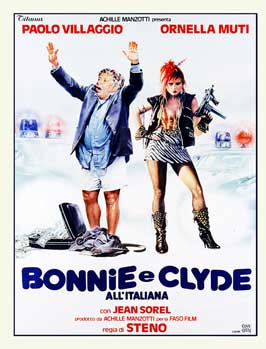 Bonnie e Clyde all italiana - 27 x 40 Movie Poster - Italian Style A