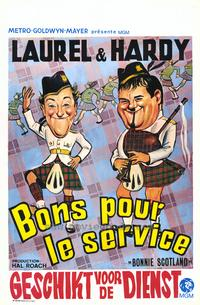 Bonnie Scotland - 27 x 40 Movie Poster - Belgian Style A