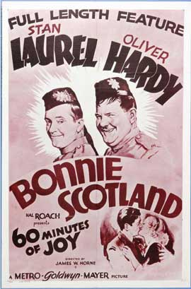 Bonnie Scotland - 11 x 17 Movie Poster - Style B
