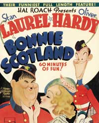Bonnie Scotland - 11 x 17 Movie Poster - Style F
