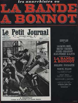 Bonnot's Gang - 11 x 17 Movie Poster - French Style A