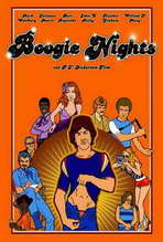 Boogie Nights - 27 x 40 Movie Poster - German Style A