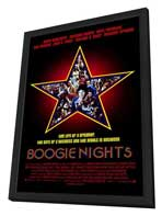 Boogie Nights - 11 x 17 Movie Poster - Style A - in Deluxe Wood Frame