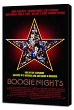 Boogie Nights - 11 x 17 Movie Poster - Style A - Museum Wrapped Canvas