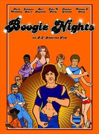 Boogie Nights - 11 x 17 Movie Poster - German Style A