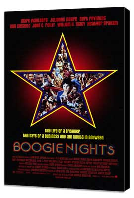 Boogie Nights - 27 x 40 Movie Poster - Style A - Museum Wrapped Canvas