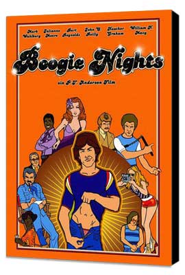 Boogie Nights - 27 x 40 Movie Poster - German Style A - Museum Wrapped Canvas