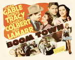 Boom Town - 22 x 28 Movie Poster - Half Sheet Style B